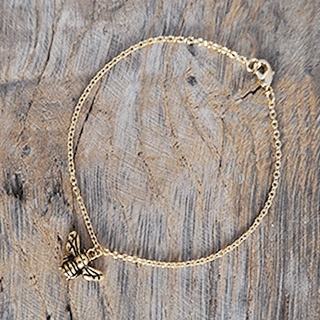 Mama-to-Bee charm bracelet Blooming Lovely