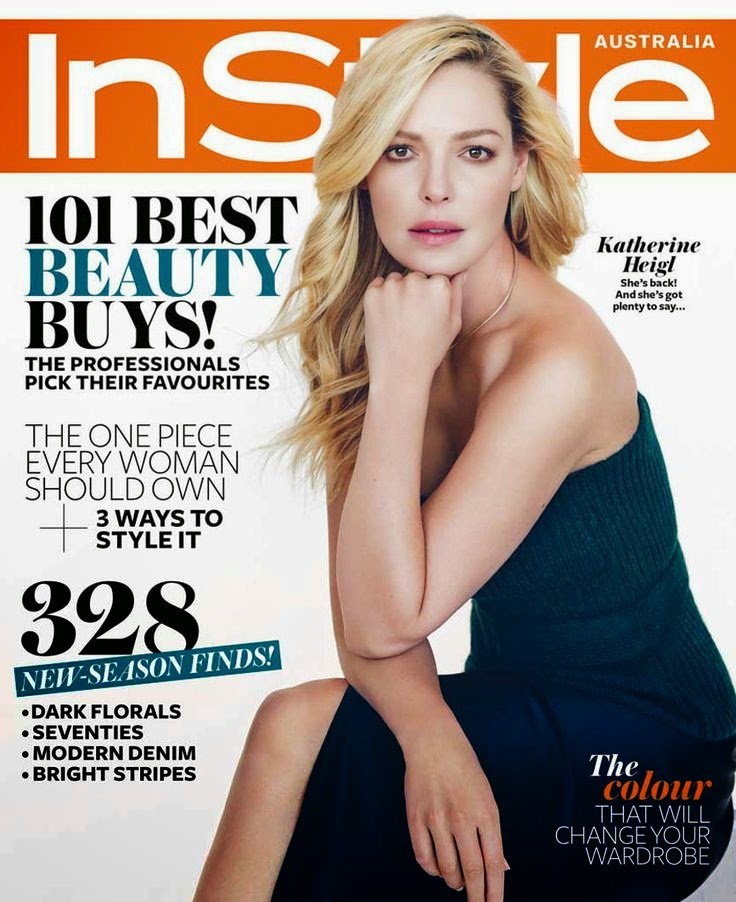 Actress: Katherine Heigl for InStyle Australia