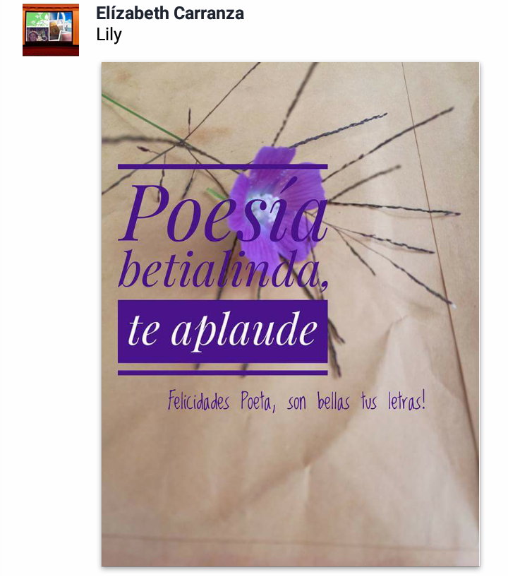 ♡♡♡... POESIA BETIALINDA