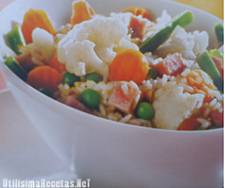 Arroz con verduritas 