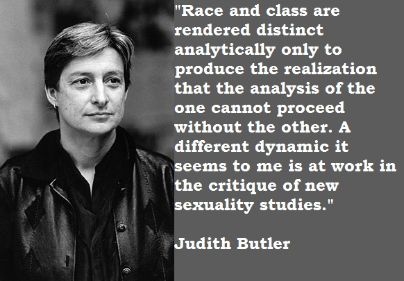 Judith butler lesbian