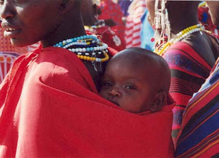 Maasai of Kenya mother and child