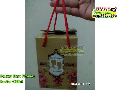 Paper Box Flower