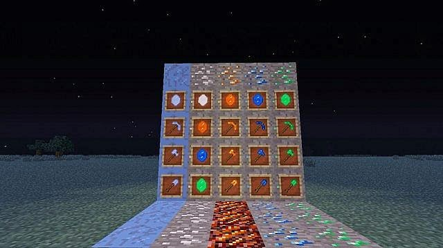 New Elemental Items Mod for Minecraft 1.7.2