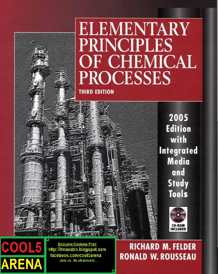 Chemical process principals cool5 arena elementary principles of chemical processes 3rd edition solution manual richard m felder author ronald w rousseau author fandeluxe Image collections