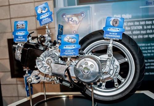 Động cơ Blue Core - vũ khí mới của Yamaha
