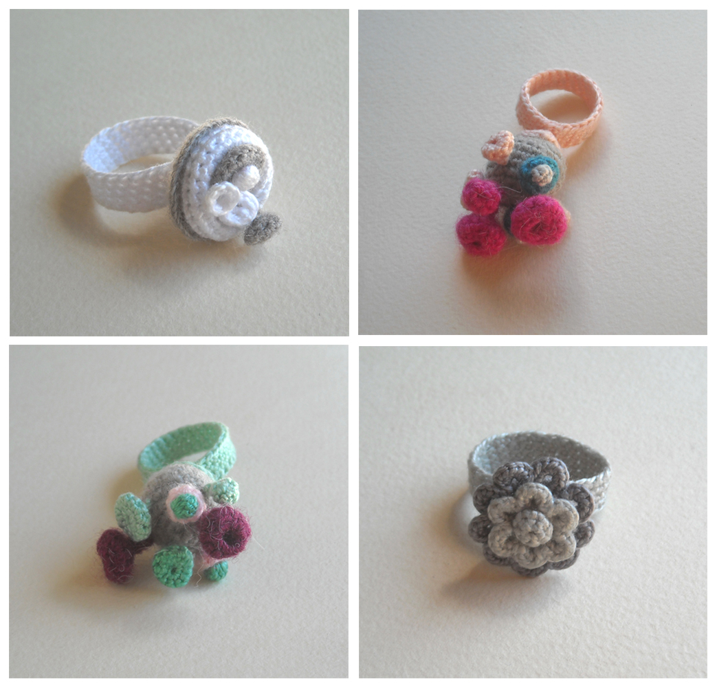 Crocheting Rings : crochet rings