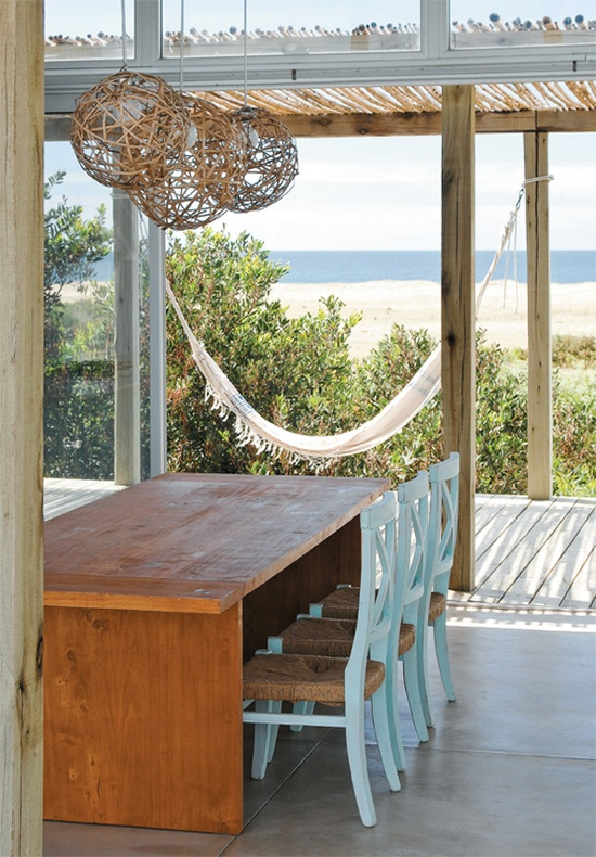 coastal style beach house lighting