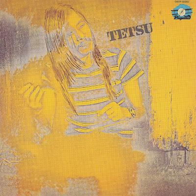 Cover Album of Tetsu - Selftitled (Great Progressive Folkrock, Japan 1972)