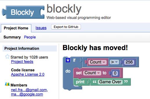 https://code.google.com/p/blockly/