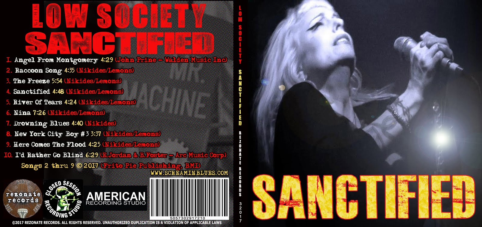 Low Society 'SANCTIFIED'