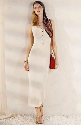 maxi vestido 2011 Massimo Dutti