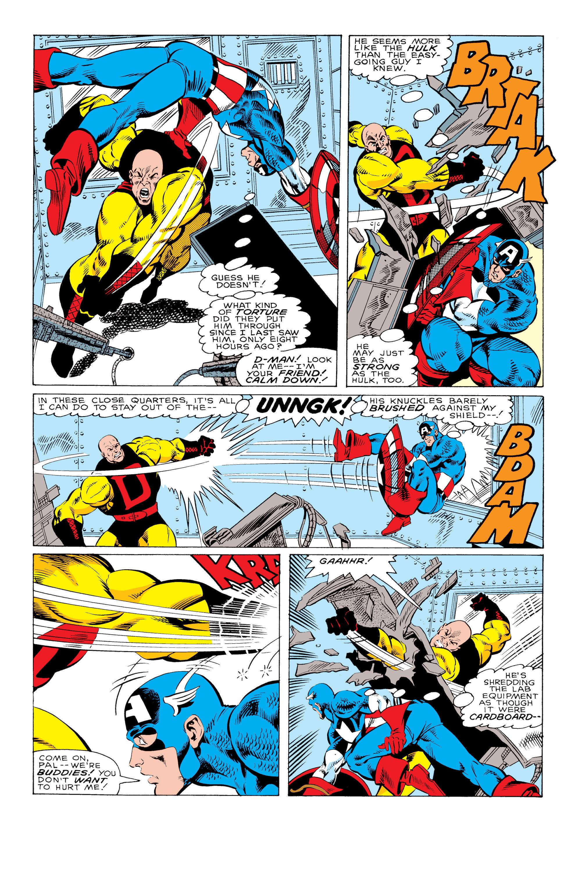 Captain America (1968) Issue #330 #259 - English 21