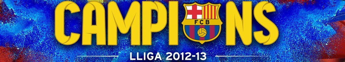 VER VIDEOS - FC BARCELONA, CAMPEONES, LIGA 2012-2013