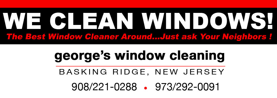 George's Window Cleaning | NJ Window Cleaning & Power Washing