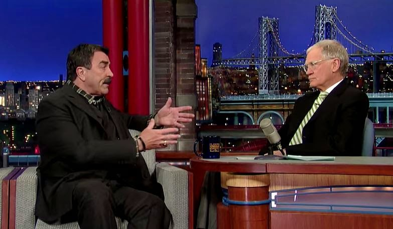 tom selleck david letterman