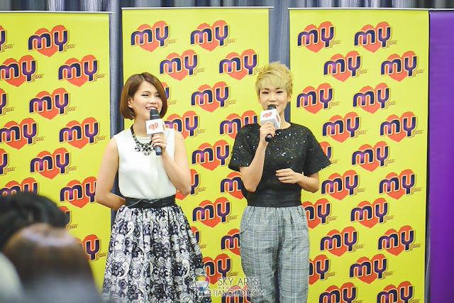 《MY FM The Show天作之盒》- Geraldine颜慧萍与Nicole赖淞凤