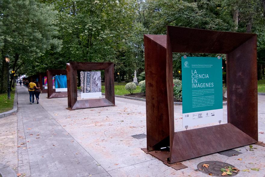 Sociedad Max Planck para el Avance de la Ciencia. Exposición en Oviedo de fotografías sobre La Ciencia en Imágenes, con motivo de la concesión del Premio Príncipe de Asturias de la Cooperación Internacional 2013