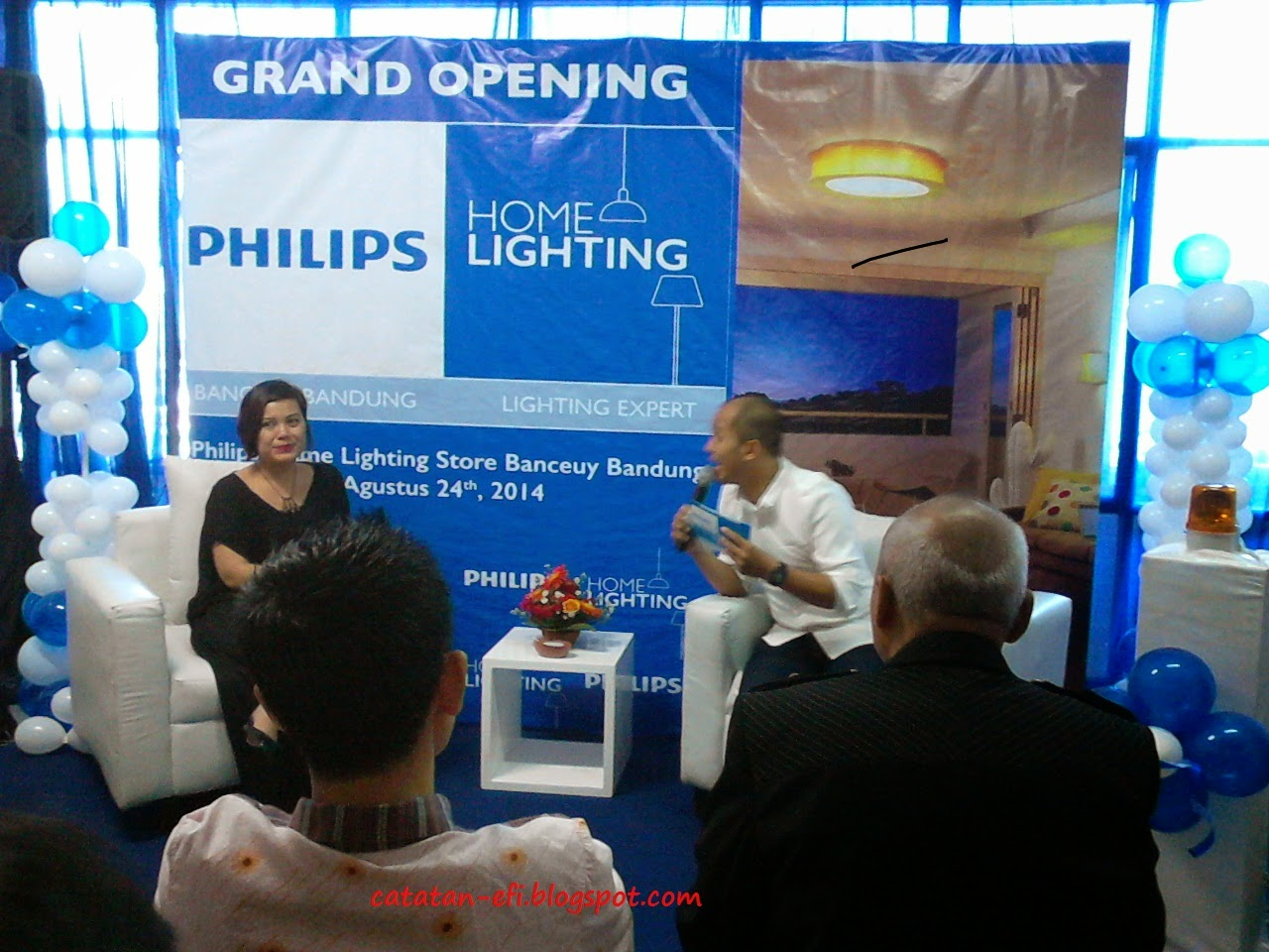 Grand Opening Philips Home Lighting Store di Makassar
