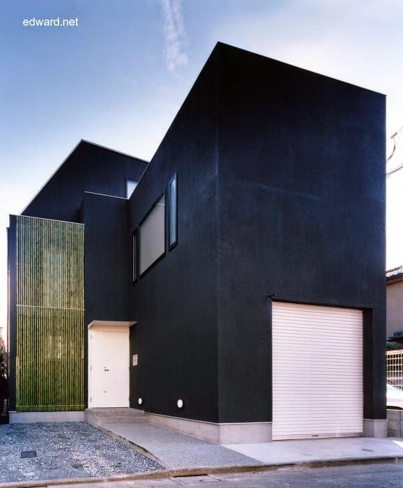 Residencia minimalista japonesa