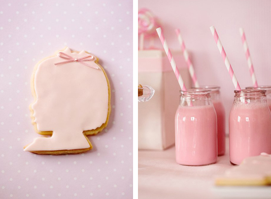 ... :paperie. event styling. design: {Parties for Girls} Pretty in Pink