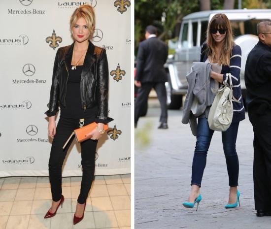 Quelles chaussures porter avec un jean skinny tendance - Quelle couleur porter avec du rouge ...