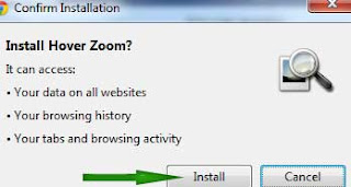 Image zoom Plugin for google chrome