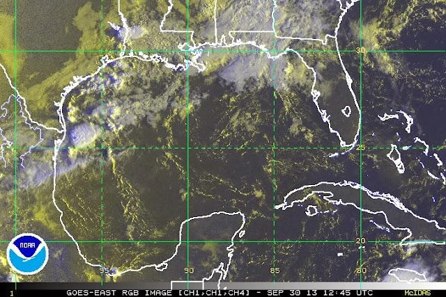 CONAGUA vigila área de inestabilidad en el Caribe con bajo potencial ciclónico