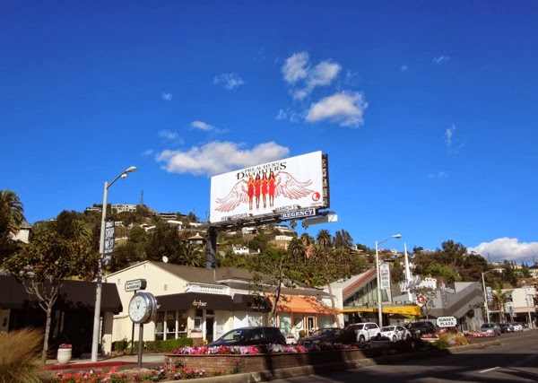 Preachers Daughters season 2 billboard Sunset Strip