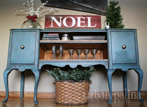Urban patina authentically crafted home gift blue for Southern crafted homes inventory