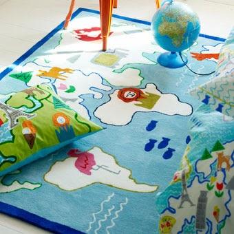...  Personliga doppresenter: Dags för en mysig matta till barnrummet