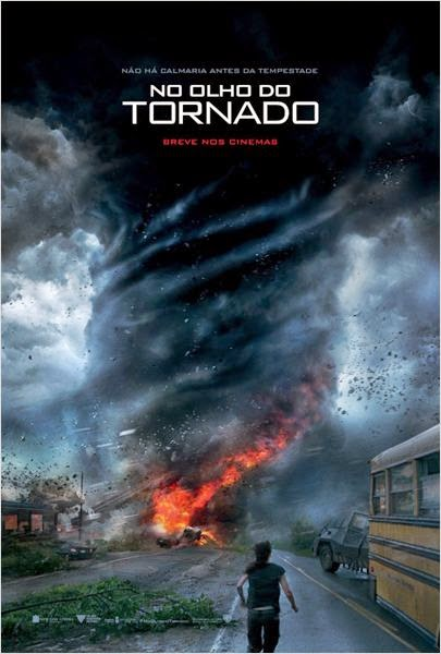 "Poster do filme ""No Olho do Tornado"""
