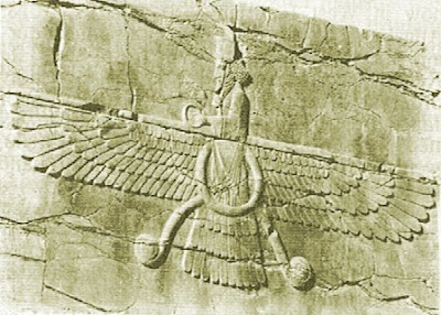 ancient flight, carving, ancient man, human flight, flying
