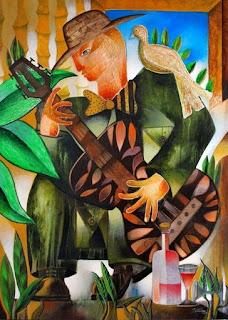 Pinturas Modernas y Minimalistas con Músicos