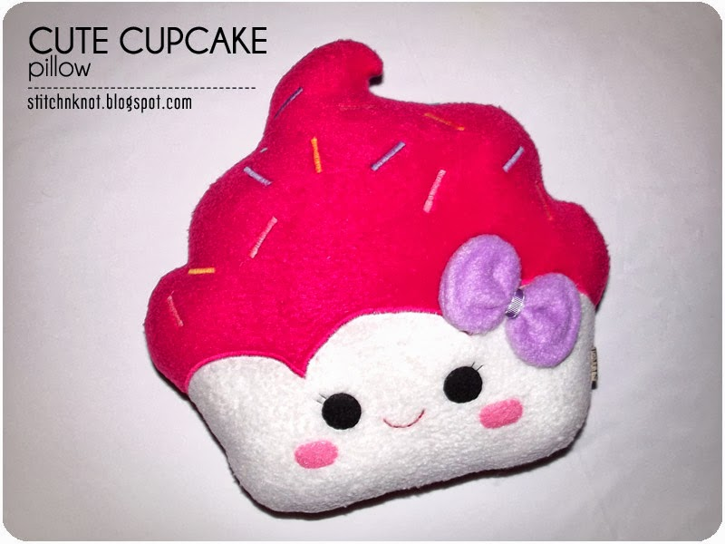 Cute Cupcake Logos Cute Cupcake Pillow 2