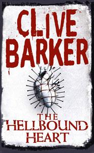 Portada británica de Hellraiser, de Clive Barker