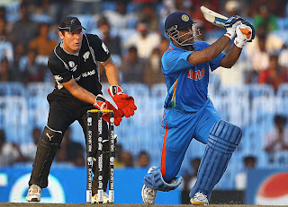 IND vs New Zealand -Warm Up match -Dhoni 100 in 64 Balls