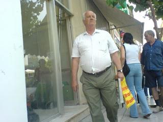 Streets shots of older men