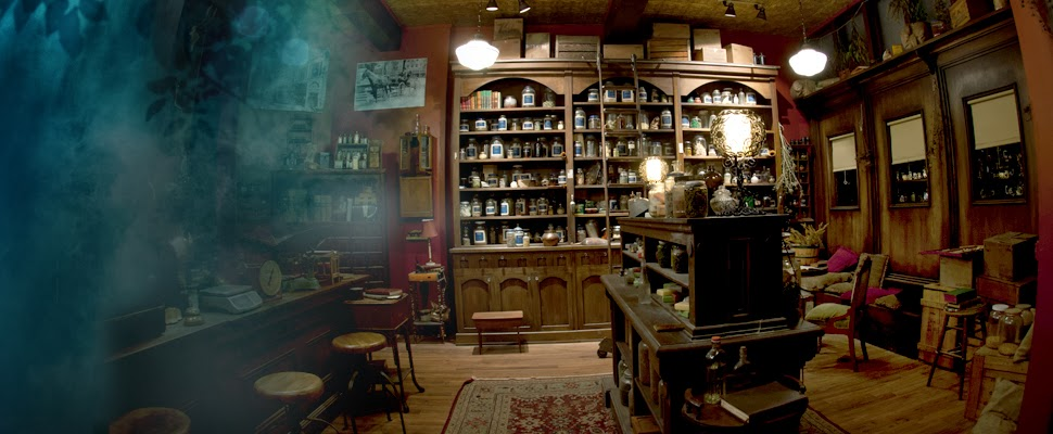 exotic tea and spice shop