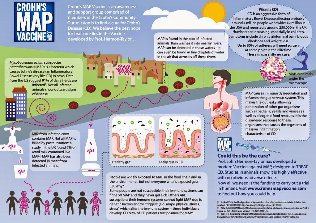 Crohn's MAP Vaccine