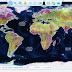 خارطة لجيولوجيا الأرض تعمل على نظام جوجل إيرث