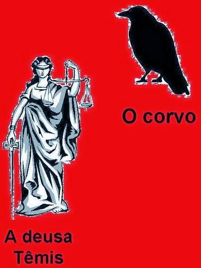 Deusa Têmis e o corvo são símbolos do Grau 31.
