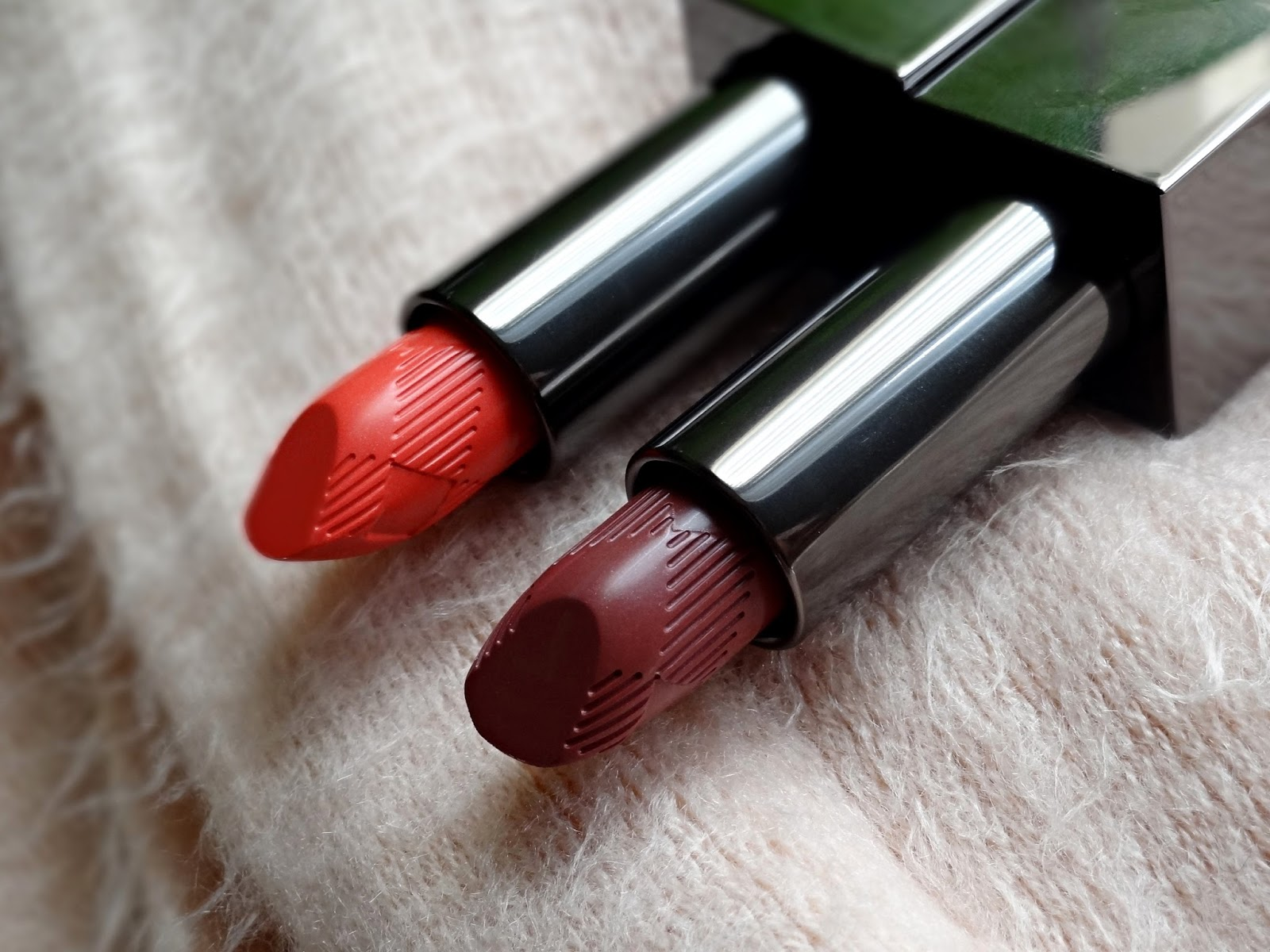 Burberry Kisses Lipsticks in Coral Pink & Rose Blush