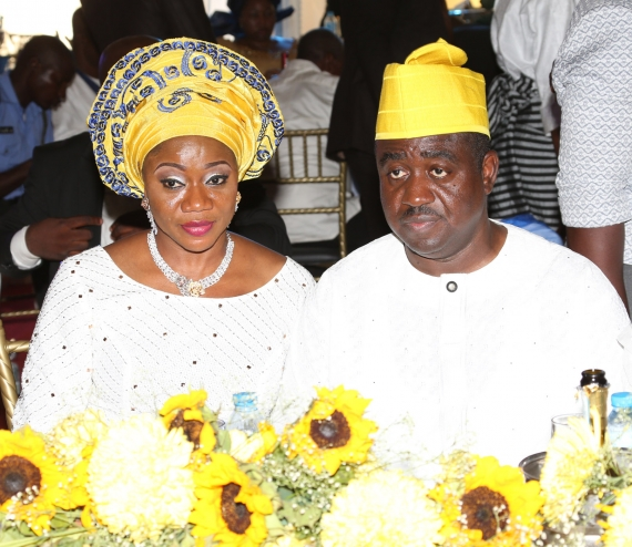 benue governor beats wife london