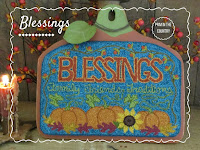 Blessings Punch Needle Pattern $8.00