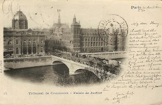 Paris France 1900 Postcard