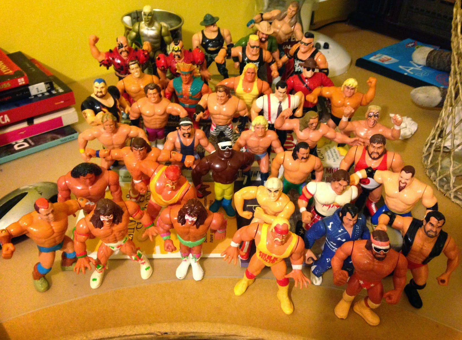 Toys From Hasbro : Wwf championship history as told by hasbro