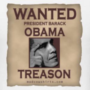 obama jailed for treason