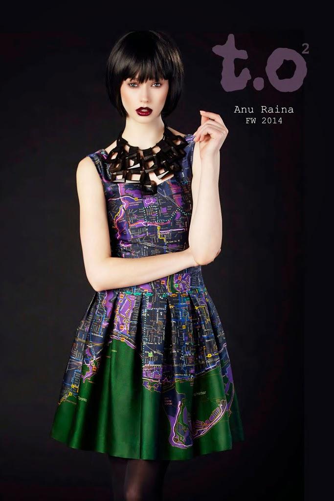 AnuRaina, fashion brands, Toronto designers