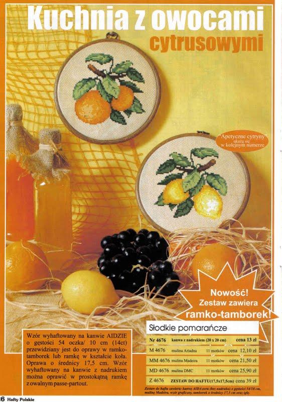 Апельсин-Лимон и клубника